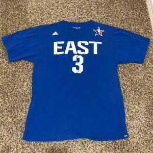 Adidas NBA all star t shirt jersey wade Miami heat